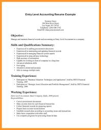 Sample Beginner Resume Resumes For Entry Level