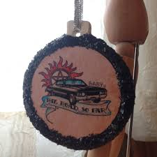 Supernatural Inspired Baby 1967 Impala Tattoo Art Ceramic Ornament By TraceyGurney On Etsy