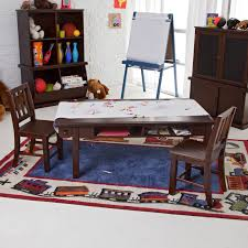 Toddler Art Desk Australia by Classic Playtime Espresso Deluxe Activity Table With Free Paper
