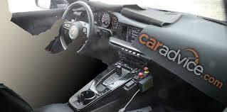 Porsche 911 interior spied with big changes