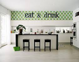 Eat And Drink Wooden Letters Kitchen Decor Home