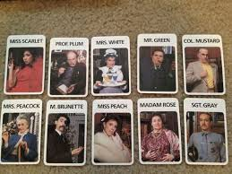 Clue Board Game Halloween Costumes
