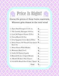 House Warming Party Price Is Right Game Printed And Shipped By SimplyInspireDesigns