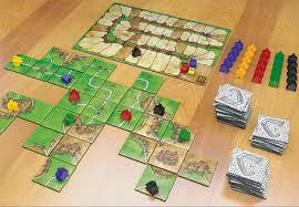 Cinco Excelentes Jogos De Tabuleiro Dominio Carcassonne Colonizadores Catan Risk Card GamesBoard