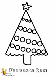Christmas Tree Coloring Page Print by Christmas Trees Coloring Pages