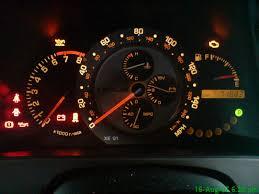2007 Toyota Corolla Orange exclamation mark indicator light on