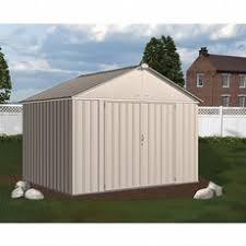 Sears Metal Shed Instructions by Craftsman Cvcs107 10 Ft X 7 Ft Vinyl Coated Steel Shed