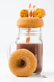 Dunkin Donuts Pumpkin Donut Recipe by Pumpkin Doughnuts Cooking Classy