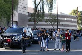 One Person Dead In Shooting Outside Las Vegas High School - NY Daily ...