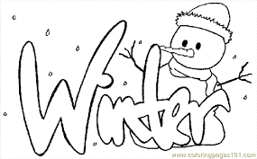 Winter Coloring Page 17