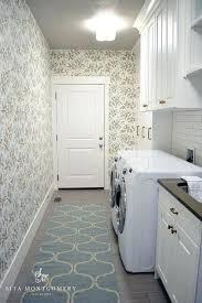 Blue Trellis Laundry Room Rug Design Ideas Rugs Miles Kimball