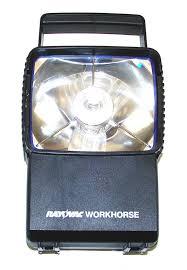 rayovac flashlight black plastic workhorse lantern with