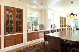 Dining Room Buffet Cabinet Built In Ideas Remarkable