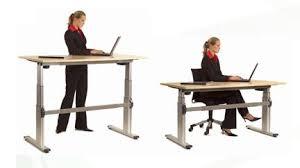 bureau à hauteur variable ad flexiade bureau réglable en hauteur