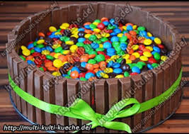 m m kitkat torte smarties torte multi kulti kueche de