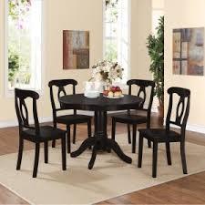 Dorel Living Aubrey 5 Piece Pedestal Dining Set