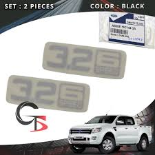 100 Ford Stickers For Trucks Details About Side Vent Sticker 32 6 Speed Genuine SilverTrim Ranger T6 2012 2017