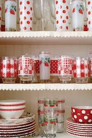 Would Love To Open My Cupboard And Find It Full Of Vintage Colorful Glassware Kitchen AccessoriesRetro