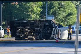 100 Dump Trucks Videos Traffic Alert Overturned Tractor Trailer SC 170 Okatie SC Hilton