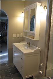 Bathroom Wall Cabinets Ikea by Bathroom Interesting Black And White Bathroom Decoration Using