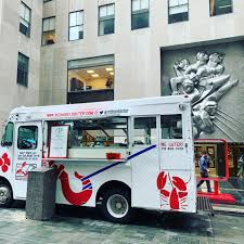 100 Redhook Lobster Truck Opening Day Rockcenternyc Come And Red Hook