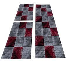 homebyhome moderner kariert design konturschnitt teppich