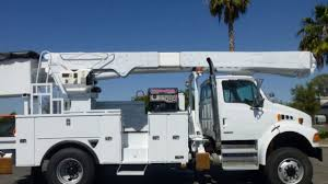 100 Altec Boom Truck 2008 Sterling Acterra 4x4 AM55MH 60 Bucket For Sale