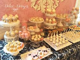 French Style Dessert Table