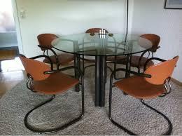 esszimmer glastisch stühlen