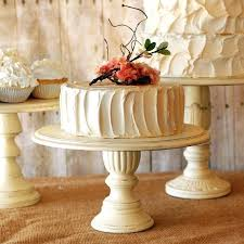 Rustic Cake Stands Set Of 3 Pedestal Serving Any Color Wedding Stand Hire Sydney