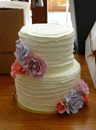 Rustic Wedding Cake Sugardazecupcakes