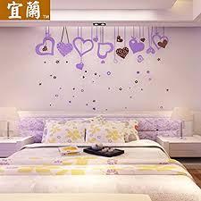 litie acryl 3d wandhalterung am fernsehgerät im wohnzimmer