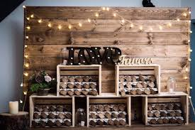 Rustic Wood Backdrop Rentals