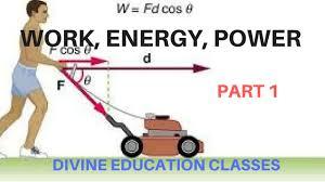 WORK ENERGY POWER PART1 Definition Scalar Concept For Class 11 Physics NEETAIIMSIIT JEECBSE