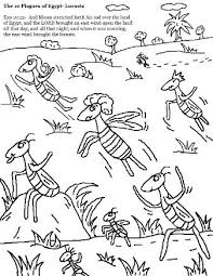 Ten Plagues Of Egypt Coloring Pages 10 Crayola Photo