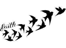 Demi Lovato Inspired Faith And Birds Tattoo By FangirlTattoos