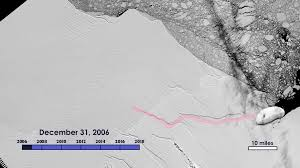 Sea Floor Spreading Animation Download by Nasa Sea Level Change Portal Massive Iceberg Breaks Off From