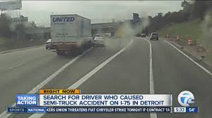 Search On Driver Who Caused Crash On I-75 - YouTube Semi Crashes Catches Fire On I75 In Rockcastle County Fiery Crash Prompts Closing Oh My God Watch This Youtube All Lanes Open On After Wuft News Wtspcom Three Killed Serious Crash North Port Fatal Collision Volving Motorcycle Semitruck Ocala Post Leaves Two Dead And One Semi Truck Accident Truck Driver Survives Falls Off Rouge River Bridge Clear Early Morning Accident Daniel Loople Dies Mangled Metal Mess Closes Northbound For Hours