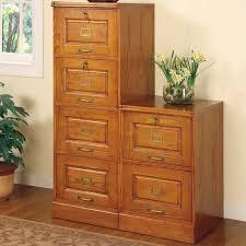 Coaster Palmetto 4 Drawer File Cabinet in Oak 5318N