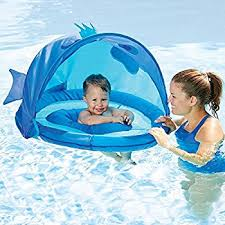 Inflatable Tubes For Toddlers by Amazon Com Swimways Baby Spring Float Activity Center With Canopy