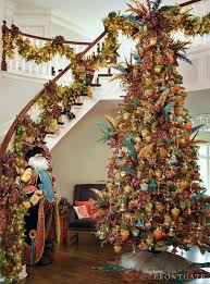 Flocking Christmas Tree Kit by 1260 Best Peacock Christmas Treez Images On Pinterest Christmas