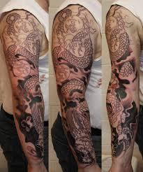Tattoo Dragon Sleeve Designs