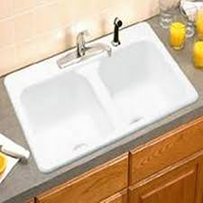 eljer dumount kitchen sink 2 bowl 212 1089 96 double bowl