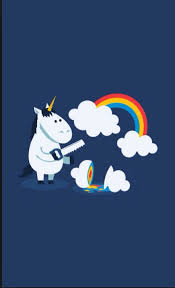 Unicorns Have To Murder Clouds Produce Rainbows