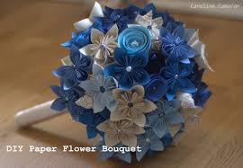 How To Make A Simple Paper Flower Bouquet Kusudama Caroline Cameron