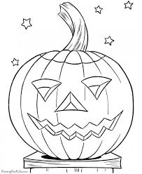 Scary Halloween Pumpkin Coloring Pages by Get This Scary Pumpkin Coloring Pages For Halloween 88310