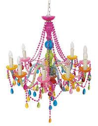 Enchanting Modern Colorful Chandelier With Lighting
