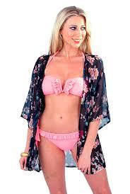 womens open kaftan tunic top cover up kimono beachwear cardigan