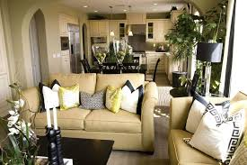 wooden living room chairs this living room features light gold