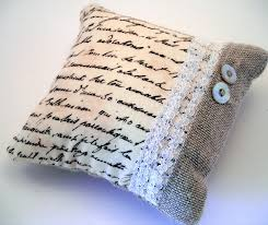 French Script Chair Cushions by Use Printed Fabric Of Favorite Book Quotes Or Literary Fabric